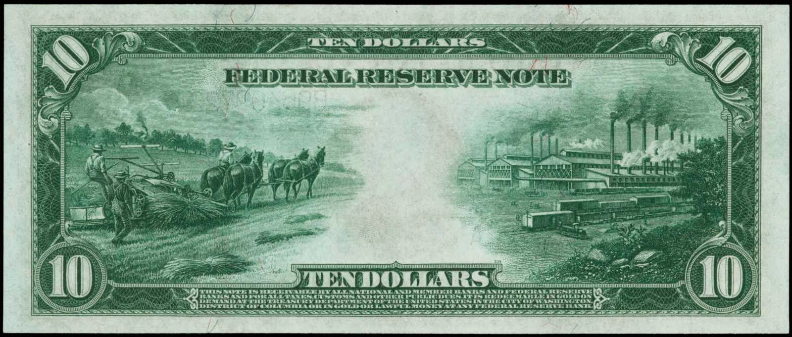 Image result for 1914 U.S. $10
